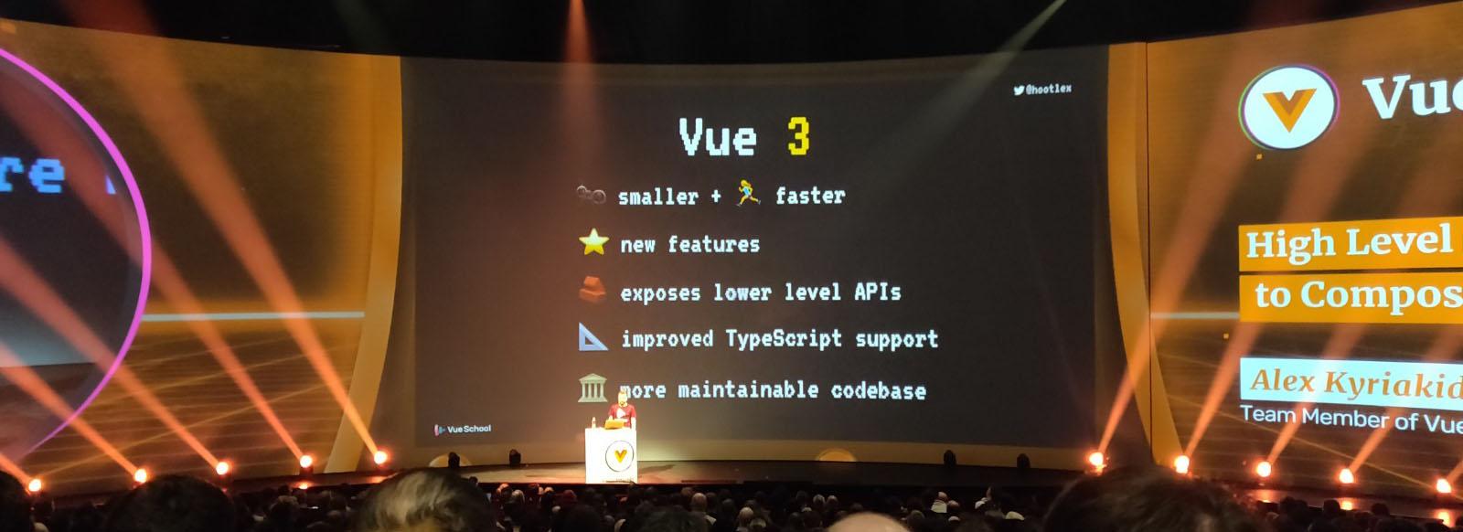 Les nouveautes de VueJs3